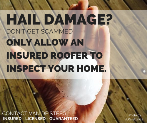 Hail Damage in Oklahoma City & Edmond