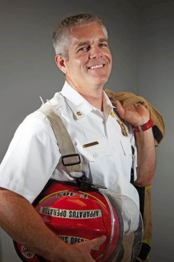 Firefighter and Roofer Tony Williams
